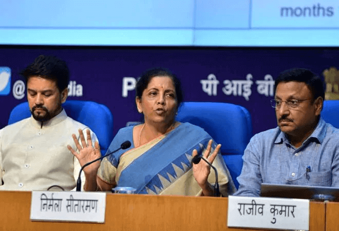 FM Sitharaman announces immediate bank recapitalisation of Rs 70,000 crore